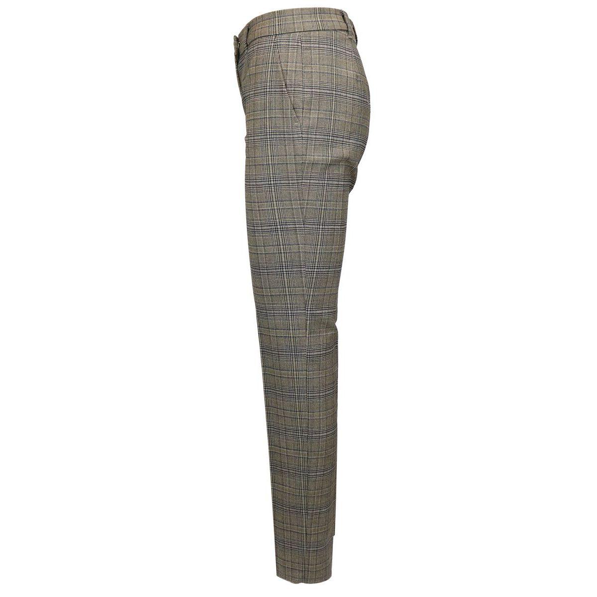 Fancy madras cigarette trousers Marr-gray Max Mara