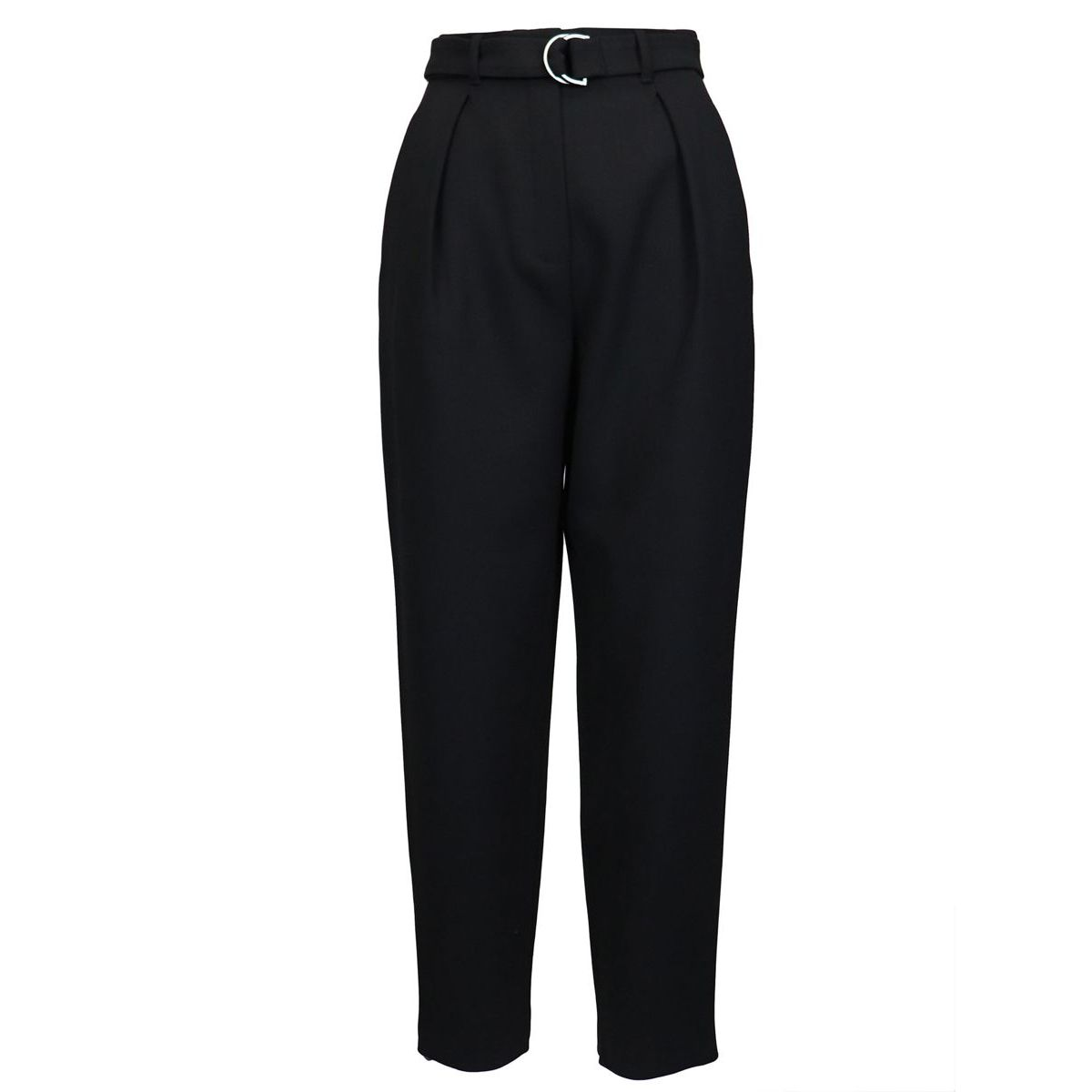 """""""Carrot"""" belted trousers Black Max Mara"""