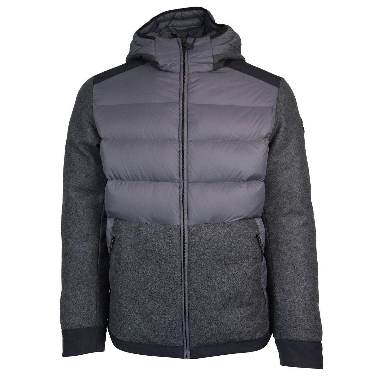 Short jacket with hood Grey Colmar