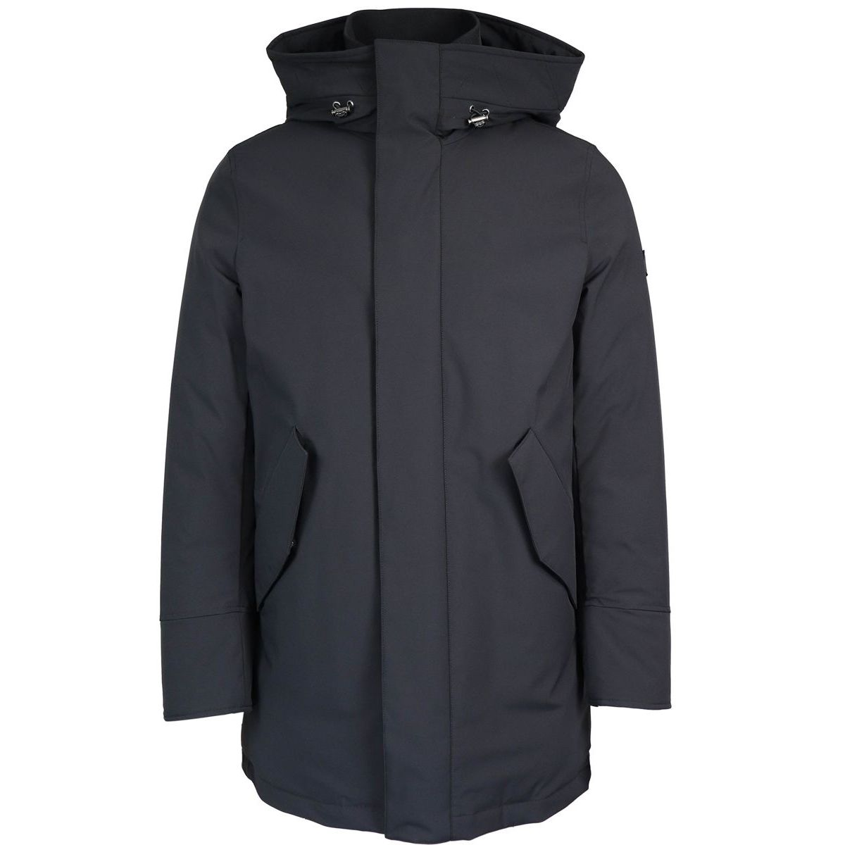 Stretch mountain parka Black Woolrich