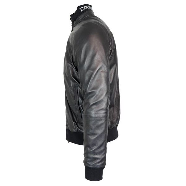 wholesale dealer 1be32 33d6a Caban uomo in pelle