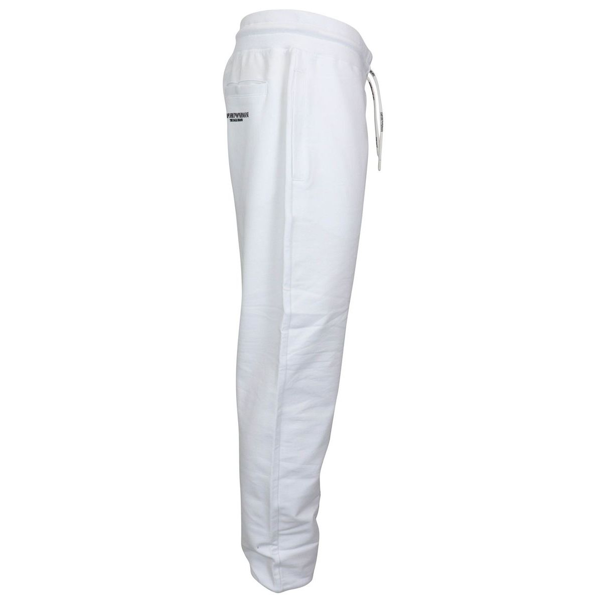 Stretch suit trousers White Emporio Armani