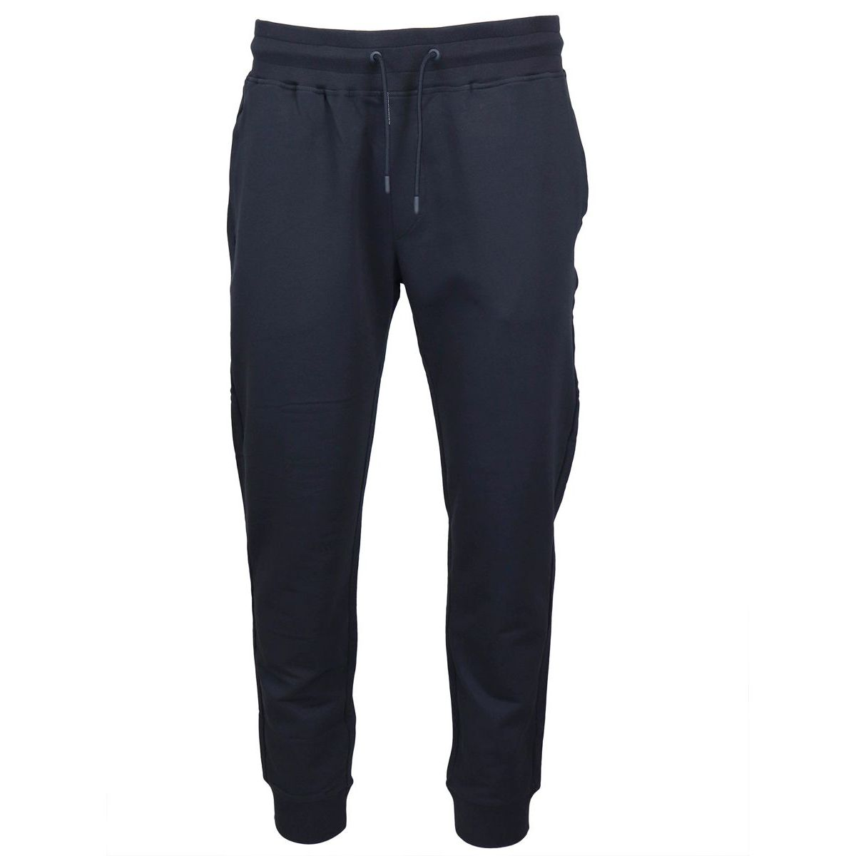 Stretch suit trousers Navy Emporio Armani