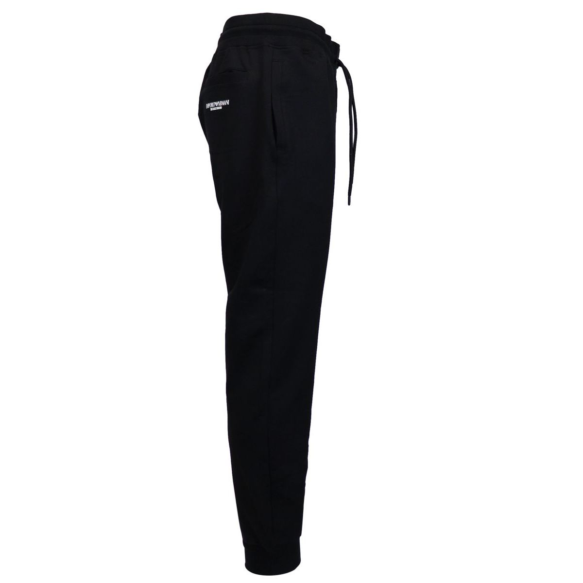 Stretch suit trousers Black Emporio Armani