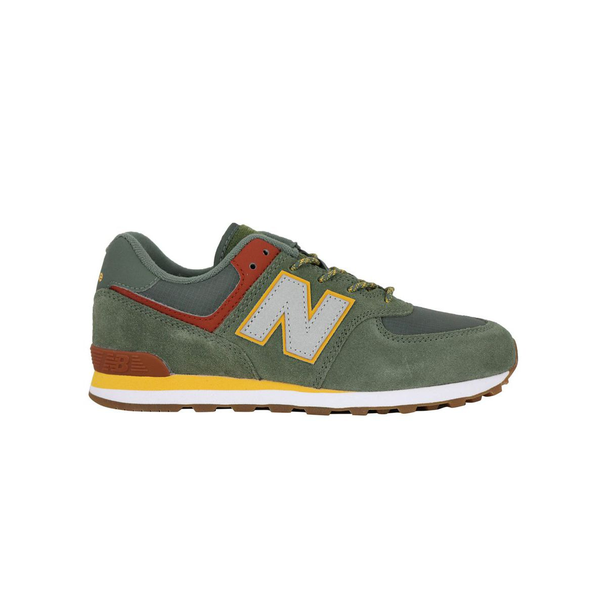 Sneakers GC574PAD Green yellow New Balance