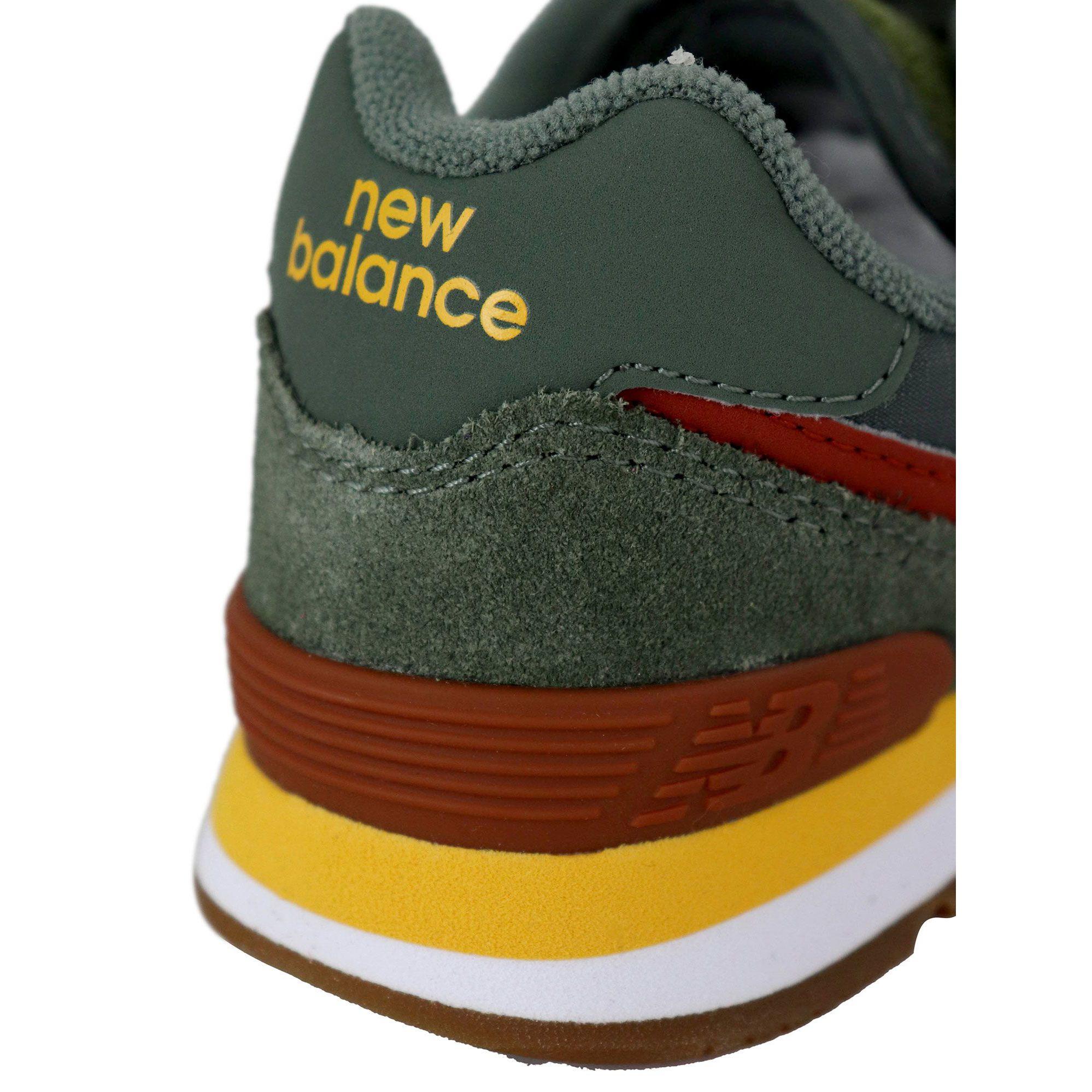 new balance gialle bambino