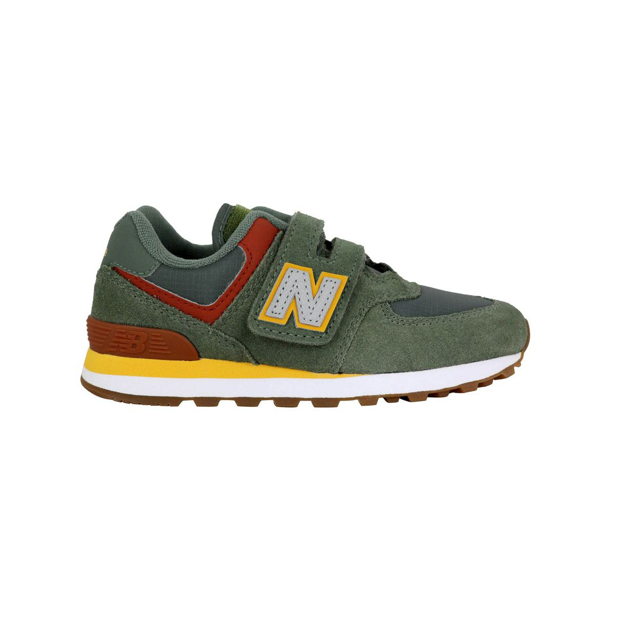 Sneakers YV574PAD Verde/giallo New Balance