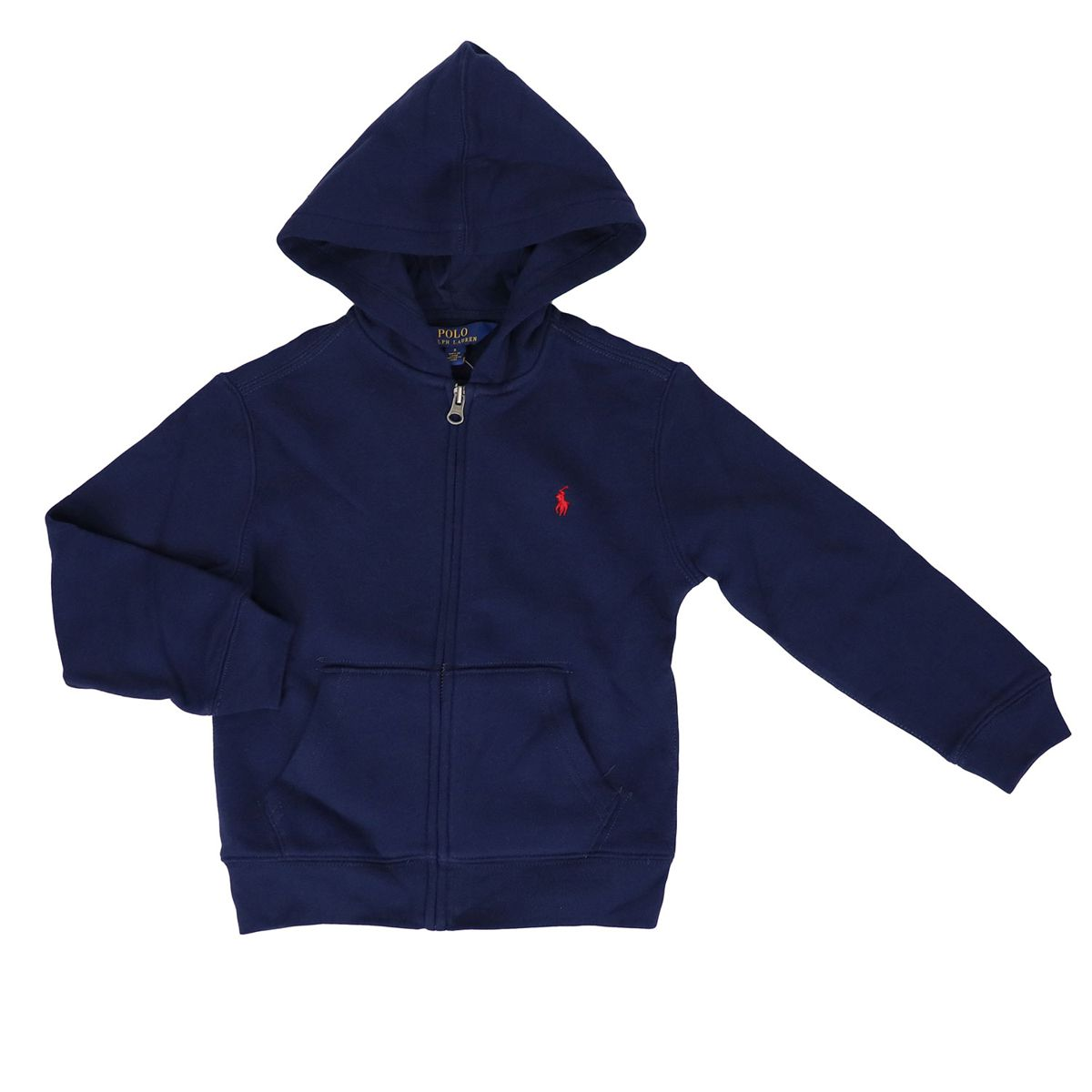 Full zip hooded sweatshirt Blue Polo Ralph Lauren