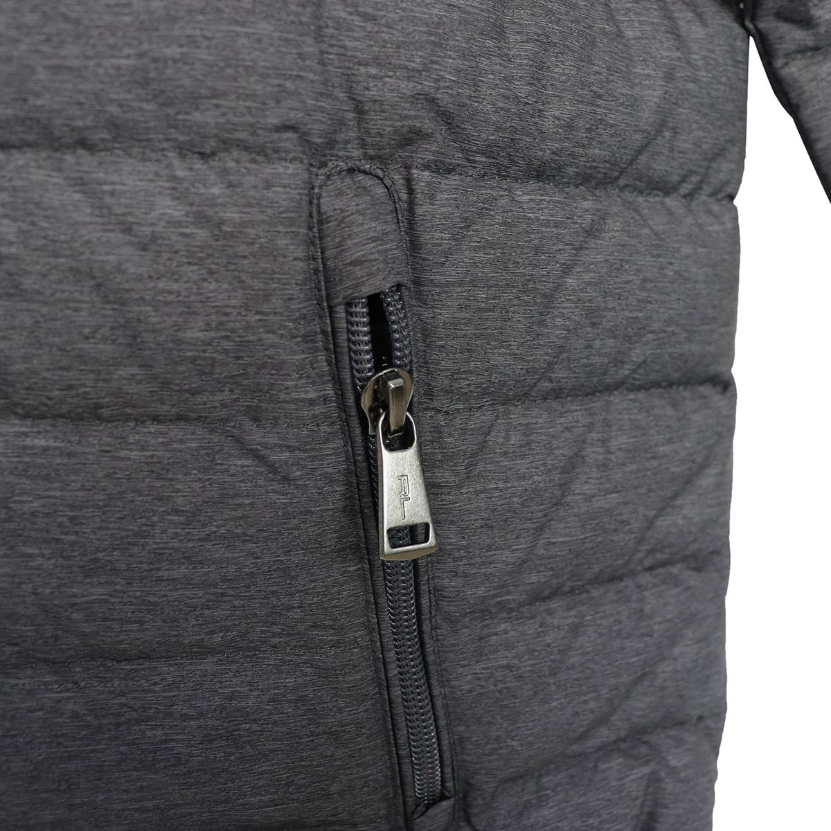 Light down jacket with hood Grey Polo Ralph Lauren