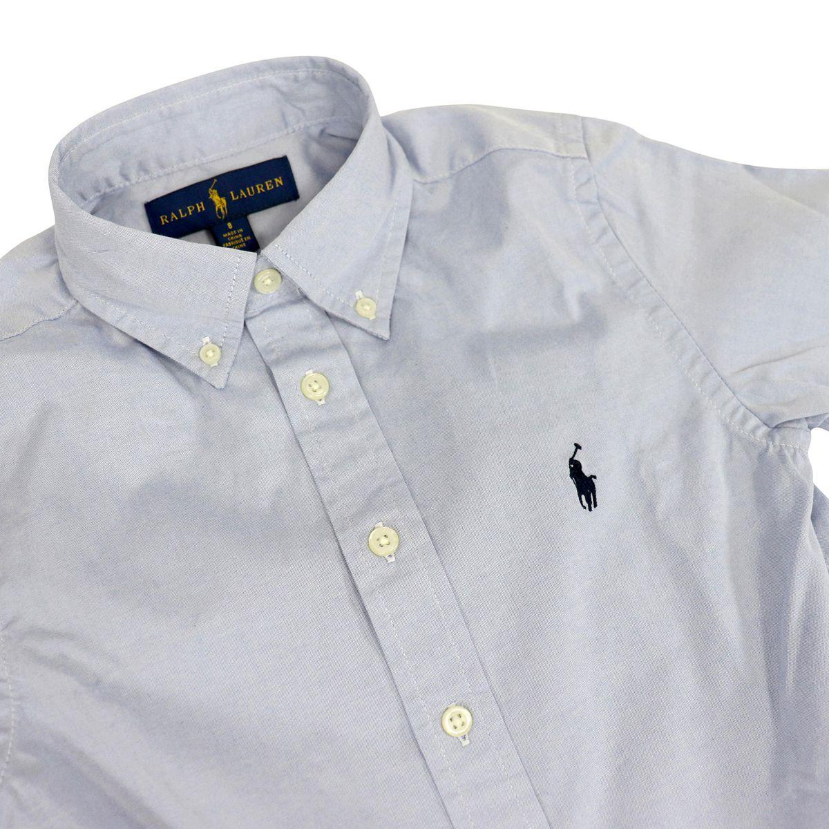 Cotton button-down shirt Light blue Polo Ralph Lauren
