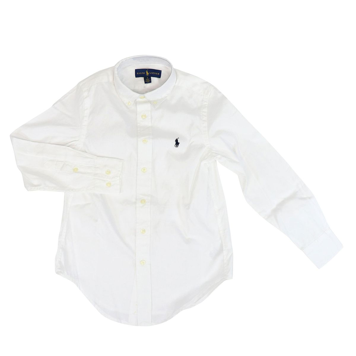 Cotton button-down shirt White Polo Ralph Lauren