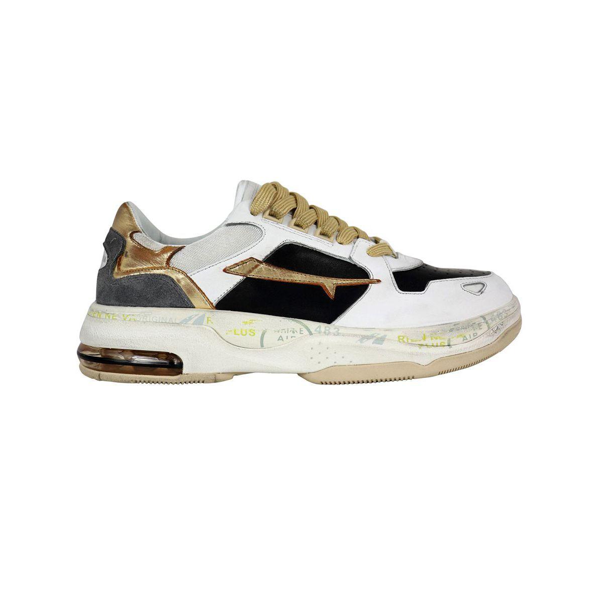 Drake sneakers White / gold Premiata