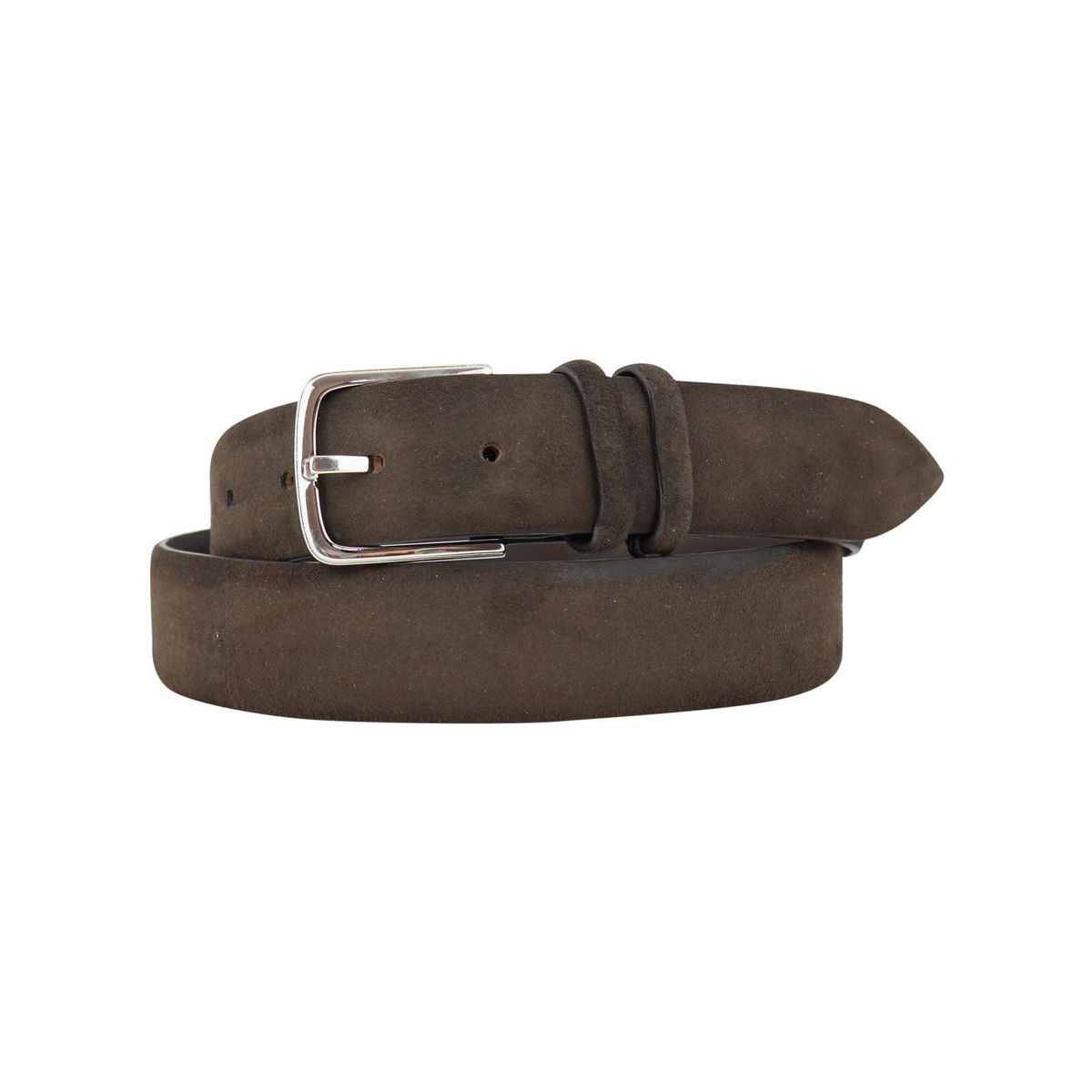 Suede belt with double loop Moro Orciani