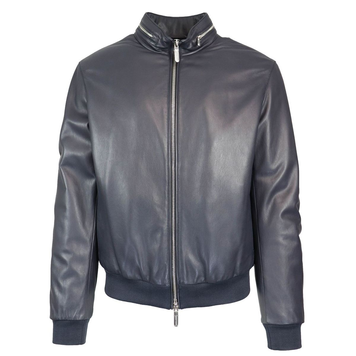 timeless design 5f8e5 29f3c Bomber in pelle con zip