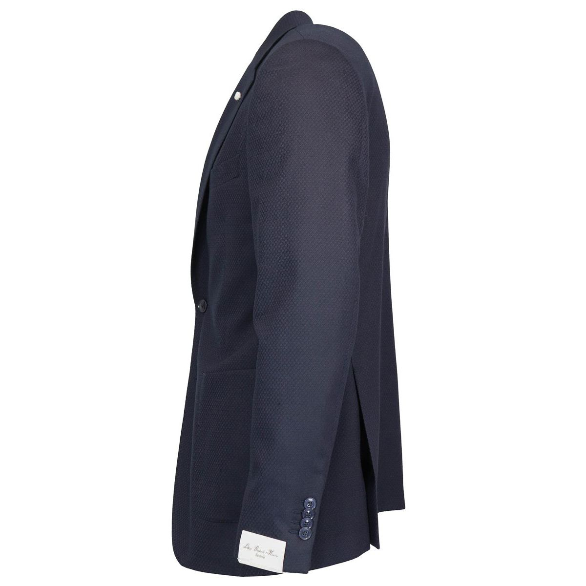 Short jacket with two buttons in wool blend Navy L.B.M. 1911