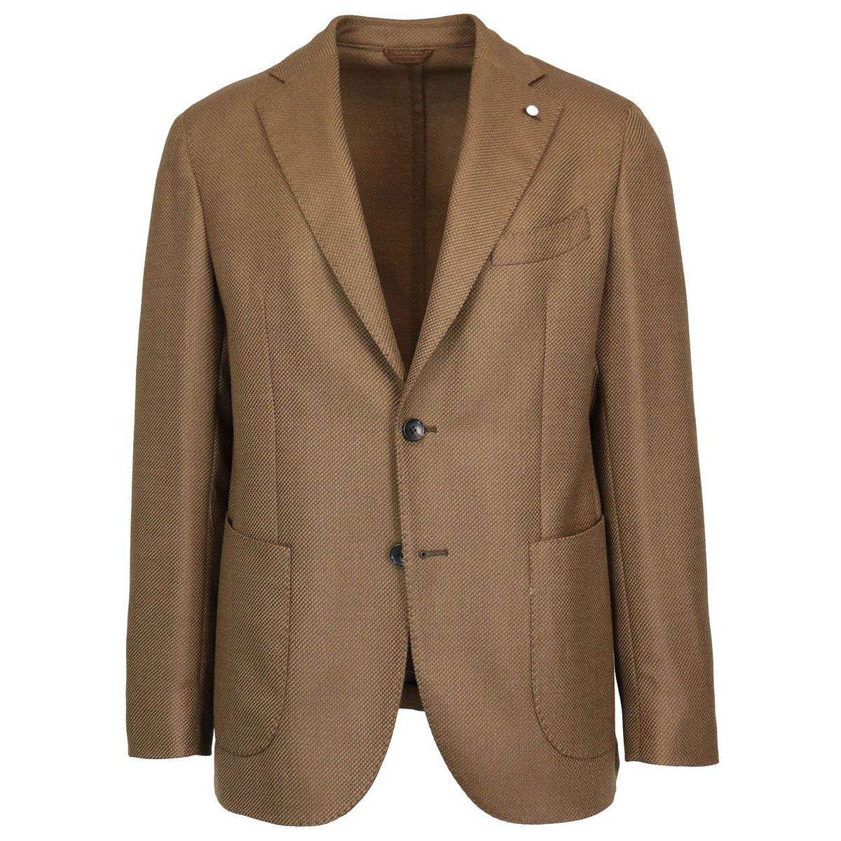 Ten Pockets two-button wool jacket Camel L.B.M. 1911