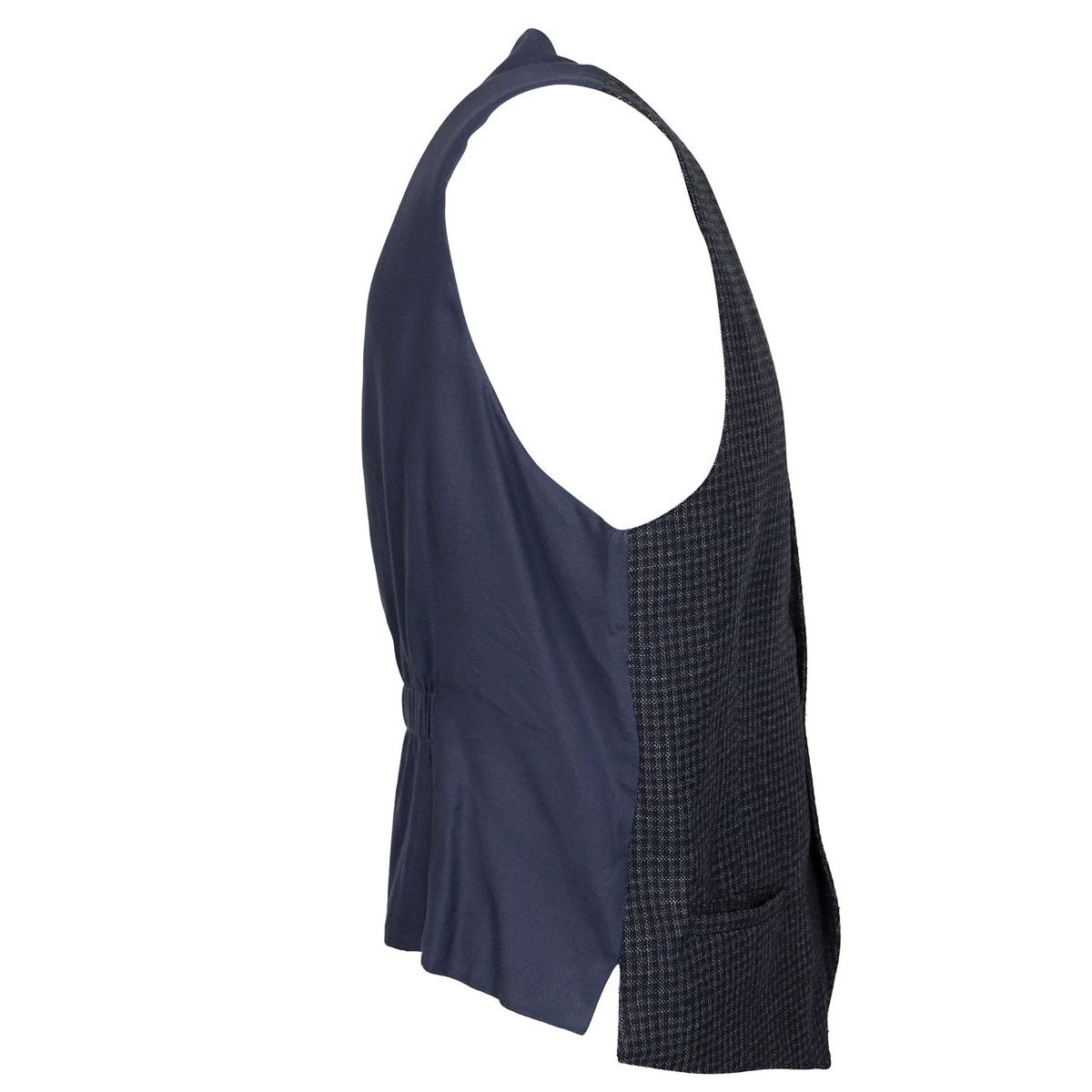 Single-breasted wool vest Blue L.B.M. 1911