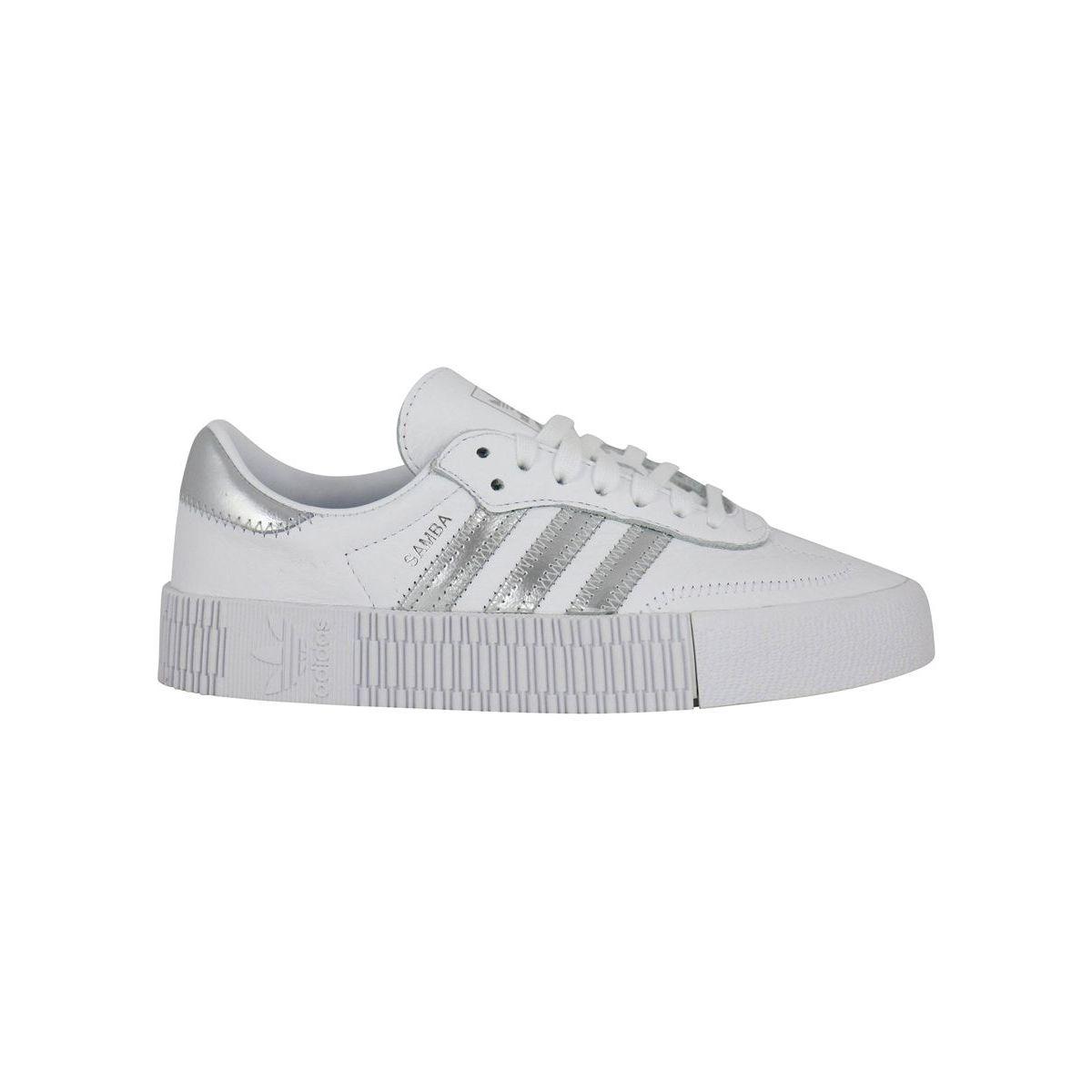 Sneakers EE9017 SAMBAROSE White / silver Adidas