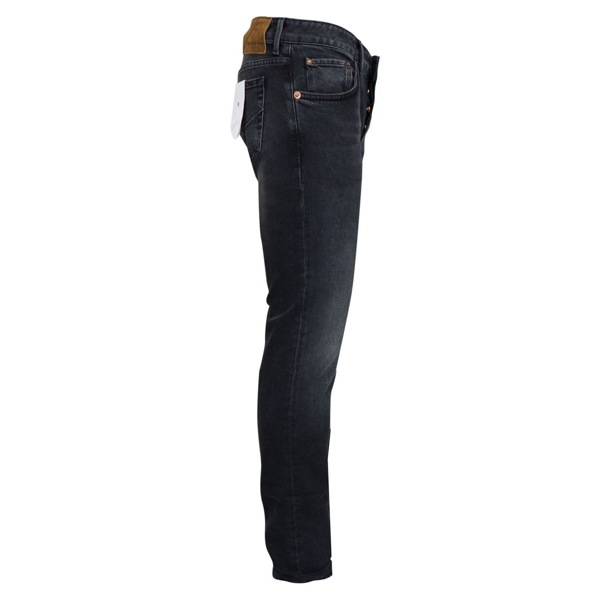 dark wash slim jeans Black HAND PICKED