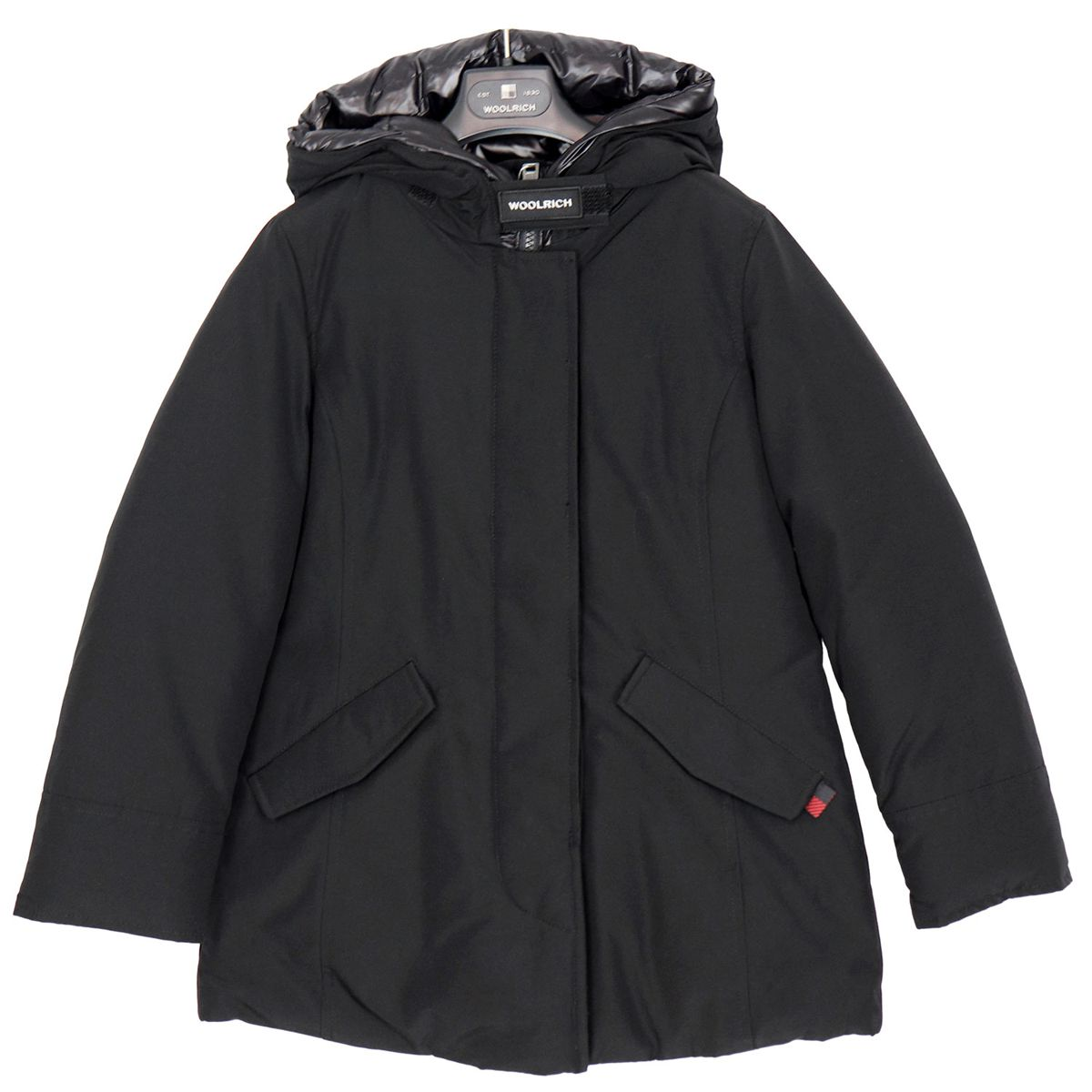 Artic parka with quilted hood Black Woolrich