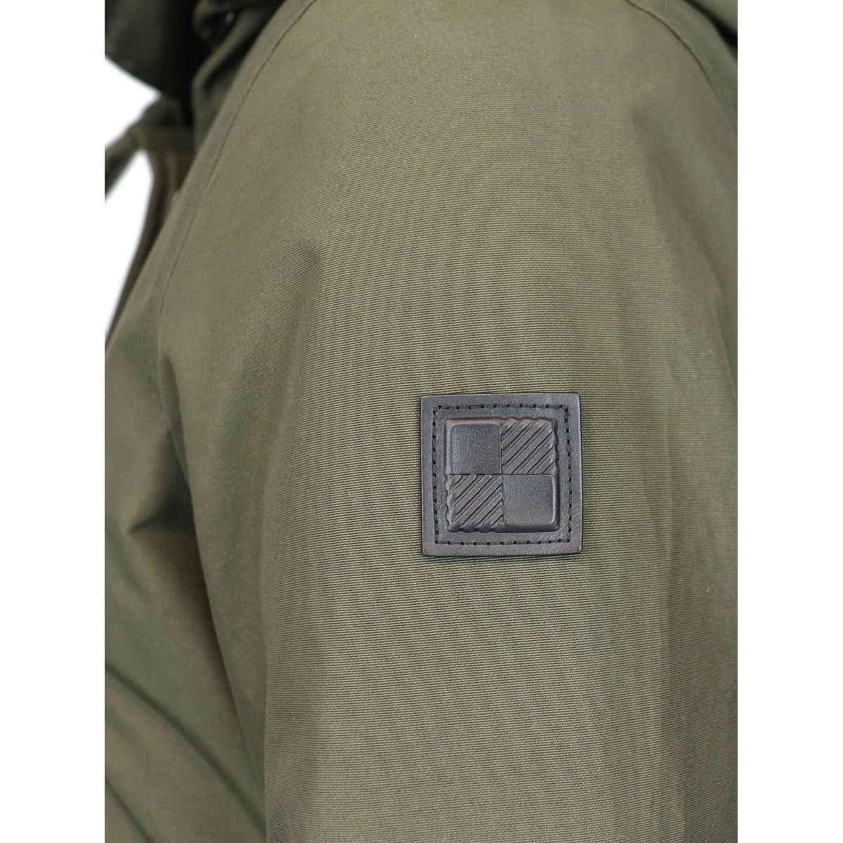 Long military coat Dark green Woolrich