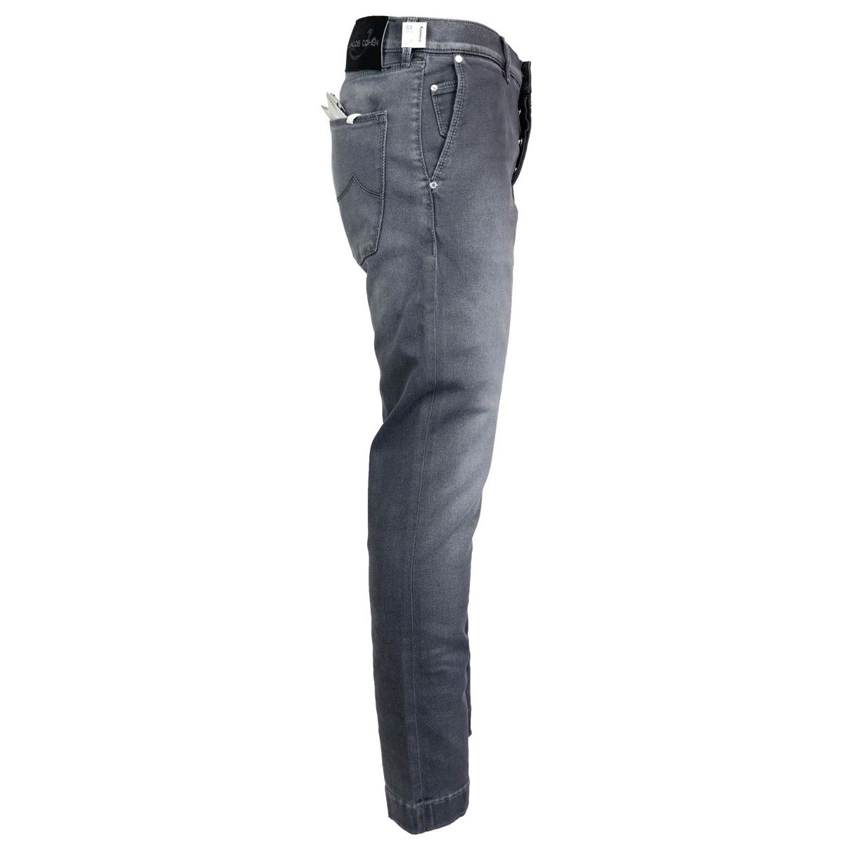 Elasticated jeans pocket J676 COMF 00733 Grey Jacob Cohen