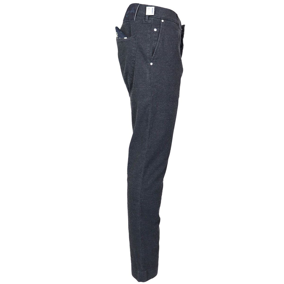Elasticated trousers pocket america J676 COMF 01719 Blue / black Jacob Cohen