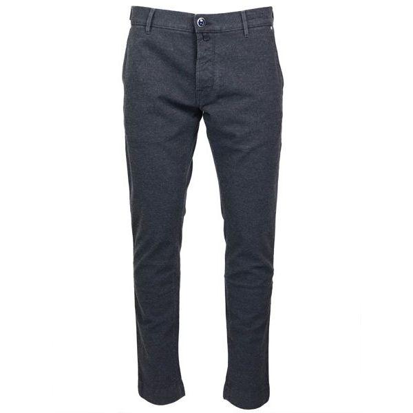 Elasticated trousers pocket america J676 COMF 01719 Blue / black Jacob Cohen